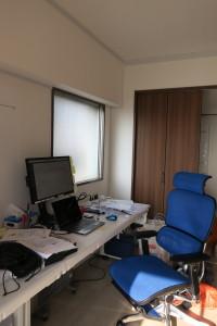 熊本支店の執務室です。朝日から元気をもらってます!