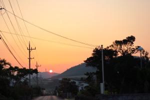 石垣島の朝日です!