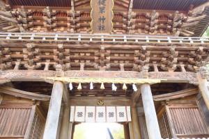 熊本支店から自転車で7分で健軍神社に着きます!
