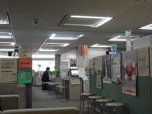 東京都建設業課の様子です。