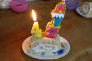 妻と子供の手作りケーキです!いつも家族が応援してくれるので、私も全力でお客様のお役に立てるように頑張ることができます!